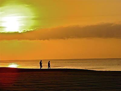Sunrise Stroll Poster