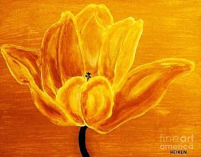 Sunrise Tulip Poster