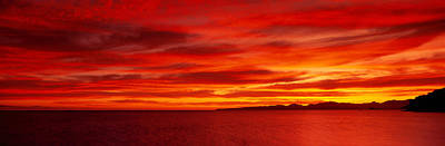 Sunrise, Water, Mulege, Baja Poster by Panoramic Images