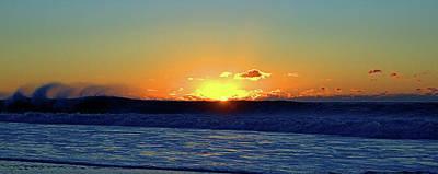 Sunrise Wave I I I Poster