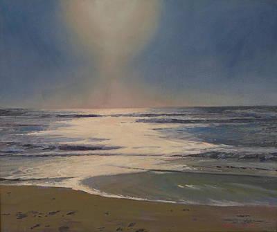 Sun's Glow Poster by Dianne Panarelli Miller