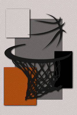 Suns Hoop Poster by Joe Hamilton