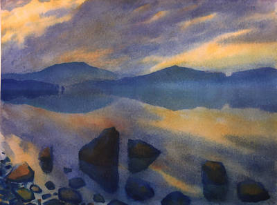 Sunset 3 Poster by Valeriy Mavlo
