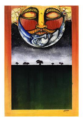 Sunset Poster by Anthony Burks Sr