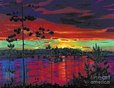 Sunset Poster by MotionAge Designs