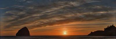 Sunset At Cape Kiwanda Poster