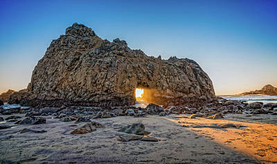 Sunset At Hole In The Rock Poster by James Hammond