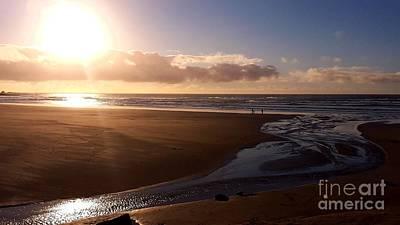 Sunset - Bastendorff Beach Poster