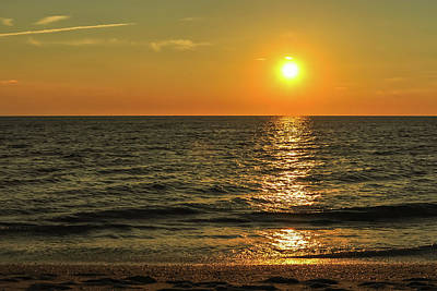 Sunset Beach Cape May Point New Jersey  Poster