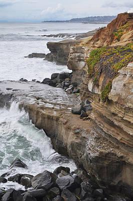 Sunset Cliffs San Diego Portrait Poster