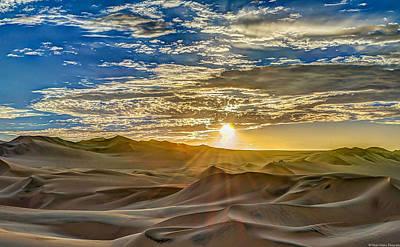 Sunset Poster by Dado Molina