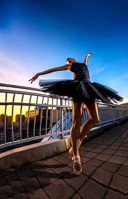 Sunset Dancer Poster