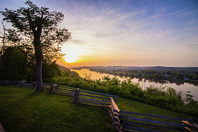 Sunset From Boreman Park Poster