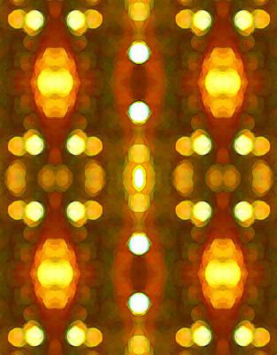 Sunset Glow 2 Poster by Amy Vangsgard
