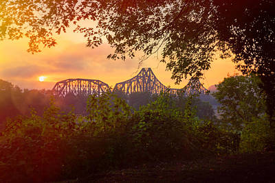 Sunset In Beaver Pa Poster
