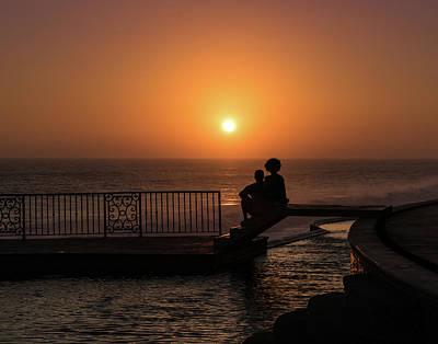 Sunset In Cerritos Poster