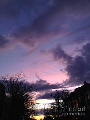 Sunset In Winter Skies  Poster