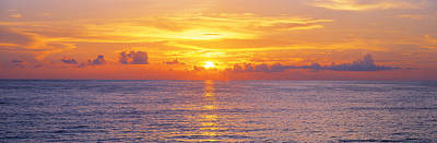 Sunset, Indian Rocks Beach, Florida, Usa Poster by Panoramic Images
