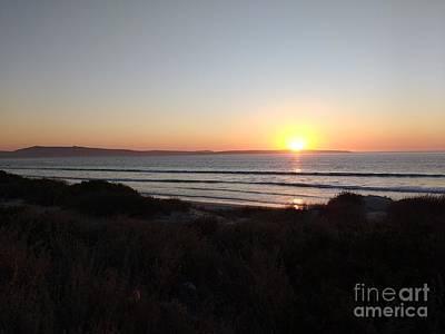 Sunset Off Saldana Bay Poster