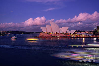 Sunset Opera By Kaye Menner Poster