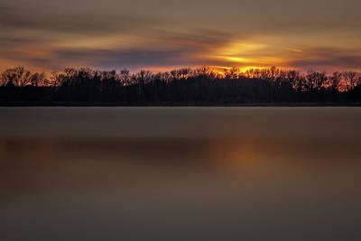 Sunset Over Little Sugarloaf II Poster