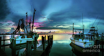 Sunset Over Matlacha Florida Poster