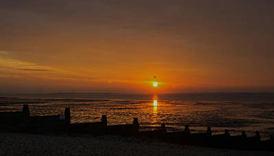 Sunset Over Sheppey 2 Poster
