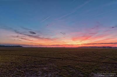 Sunset Pastures Poster