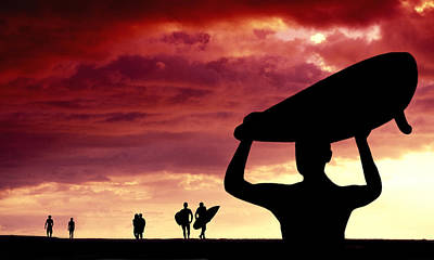 Sunset Pilgrimage Poster