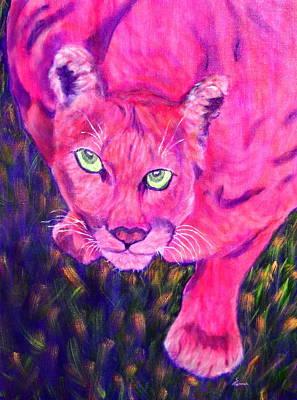 Sunset Prowler Poster by Sandy Hemmer