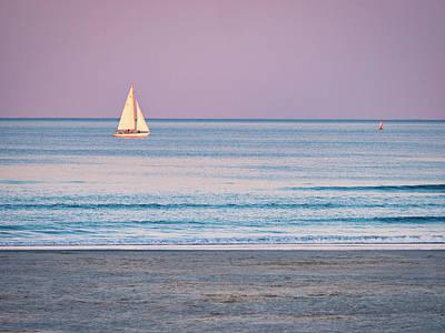 Sunset Sail - Ogunquit -maine Poster