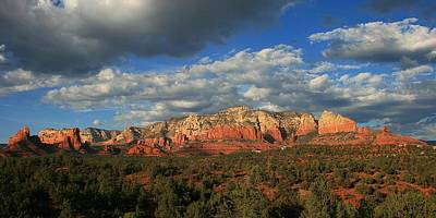 Sunset Sedona Style Poster by Gary Kaylor