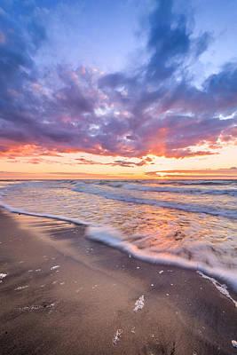 Sunset Shore Poster