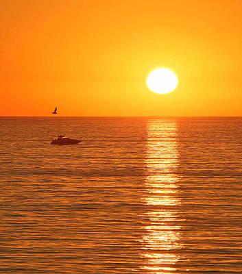 Sunset Solitude Poster