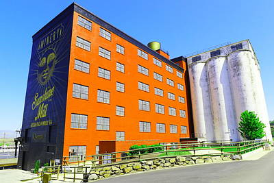 Sunshine Mill Winery The Dallas Oregon Poster by Jeff Swan