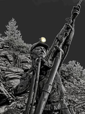 Sunshine Silver Mine Memorial - Kellogg Idaho Poster by Daniel Hagerman