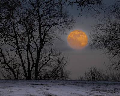 Super Blue Moon Rising 2 Poster