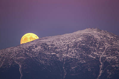 Super Moon Rising Poster