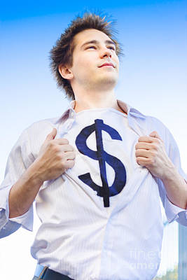Superannuation Man Poster by Jorgo Photography - Wall Art Gallery
