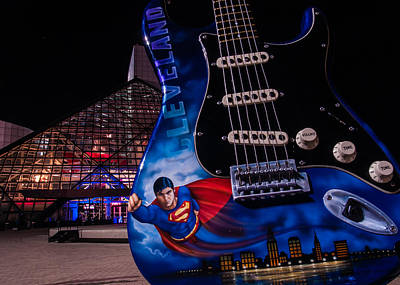 Superman Rocks Poster