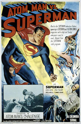 Superman, Serial, Kirk Alyn, Chapter 6 Poster by Everett