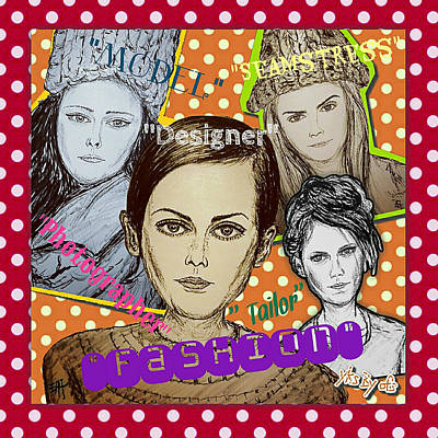Supermodels - Fashion Poster