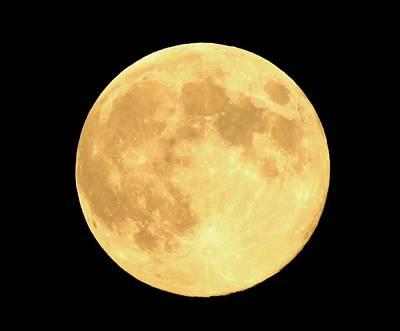 Supermoon Full Moon Poster