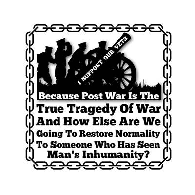 Support Our Vets Poster