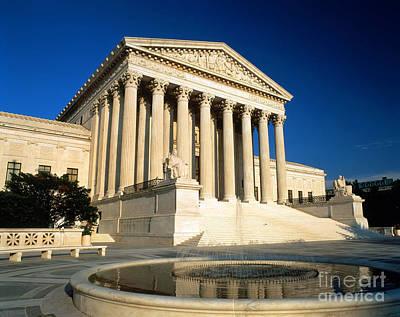 Supreme Court, Washington, D.c Poster by Joseph Sohm