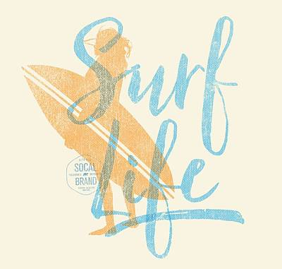 Surf Life 2 Poster by SoCal Brand