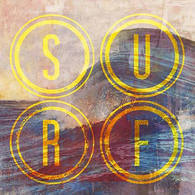 Surf V2 Poster by Brandi Fitzgerald