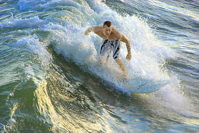 Surfer 5699 Poster by Francesa Miller