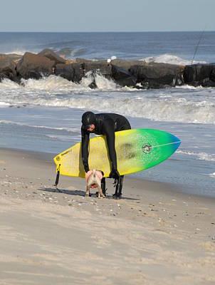 Surfing 45 Poster by Joyce StJames