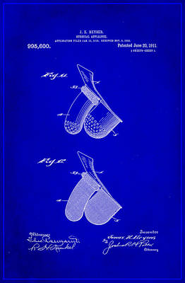 Surgical Appliance Patent Drawing 1a Poster by Brian Reaves